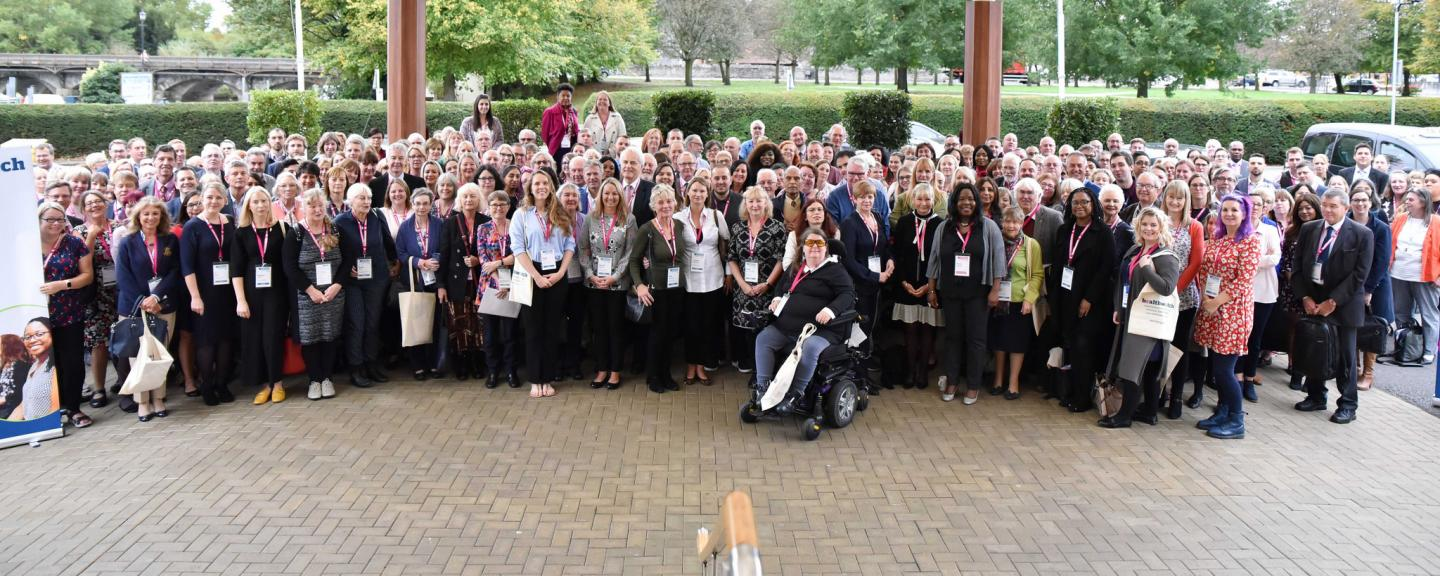 Healthwatch staff at this year's conference