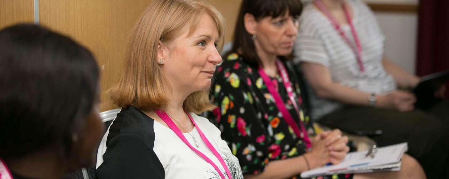 Local Healthwatch staff at an event.