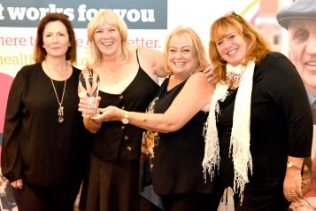 Some of the award winners from this year's Network Awards