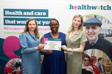 Healthwatch Network Awards 2019 winners