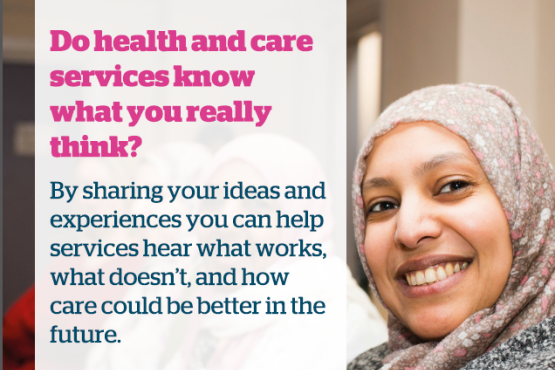 Image of a Healthwatch poster