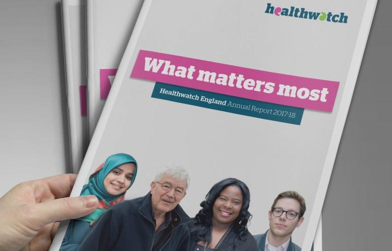 Image of our annual report front cover