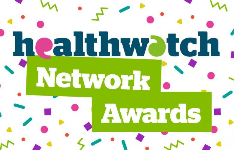 Healthwatch network awards