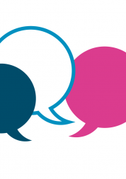 Graphic of speech bubbles