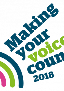 Making your voice count logo