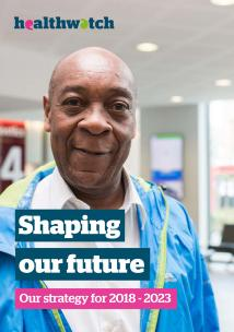 Shaping Our Future - Our Strategy 2018-2023 Front Cover